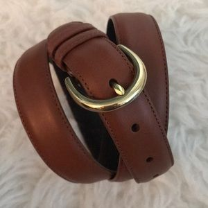 Coach Brown Leather Belt, Style 8400